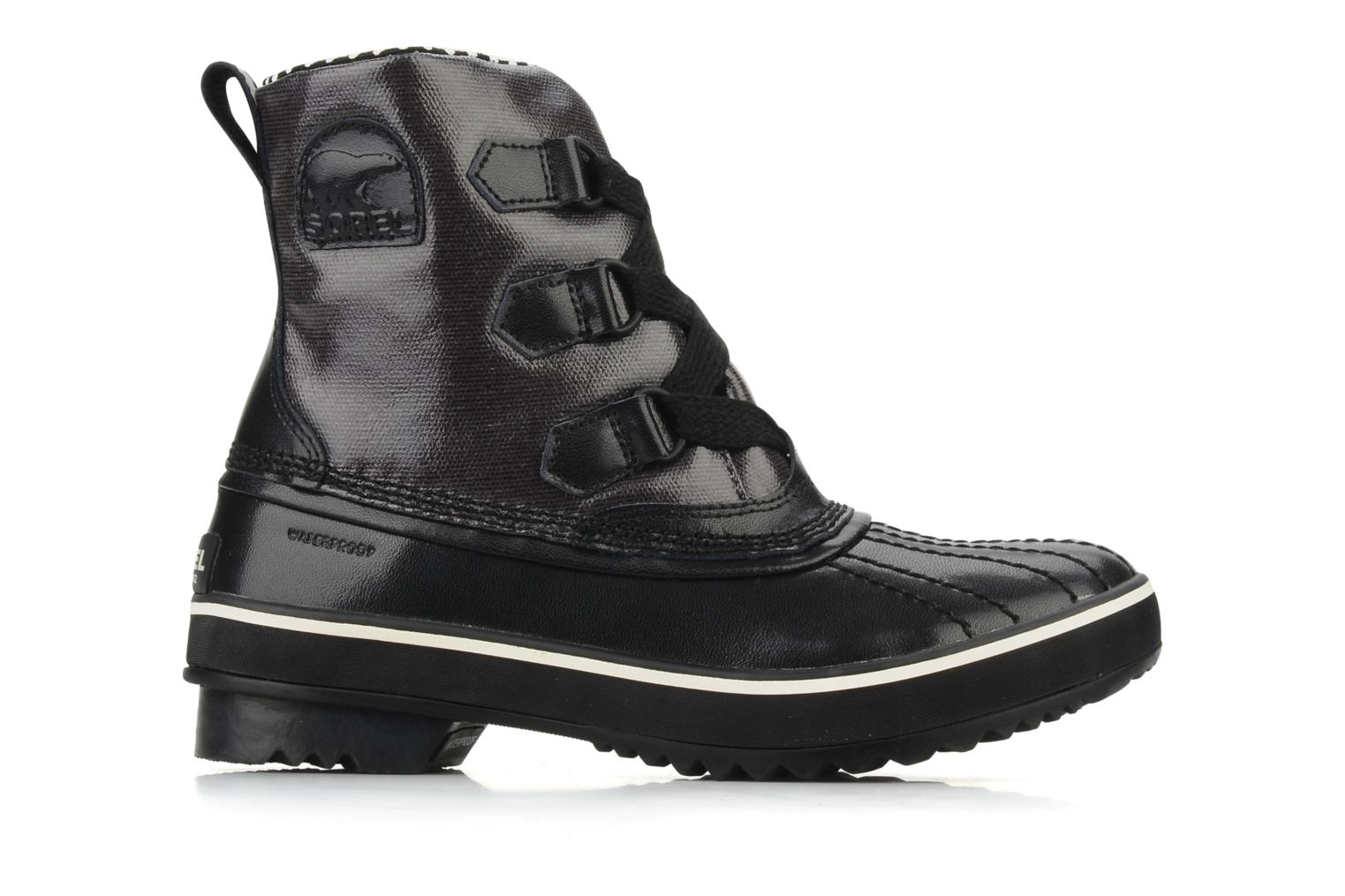 Ankle boots Sorel Tivoli Rain Black back view