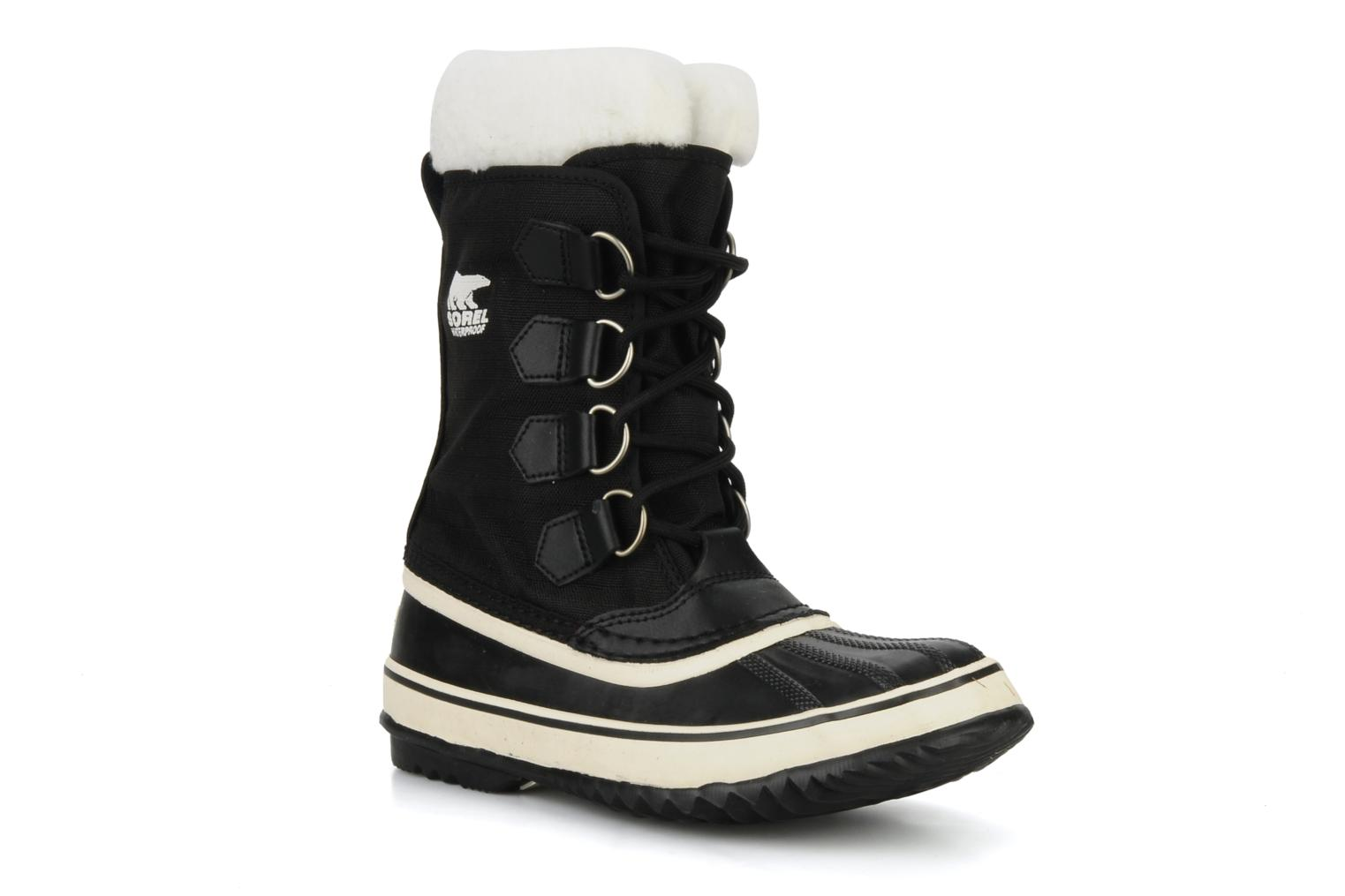 Sport shoes Sorel Winter carnival Black detailed view/ Pair view
