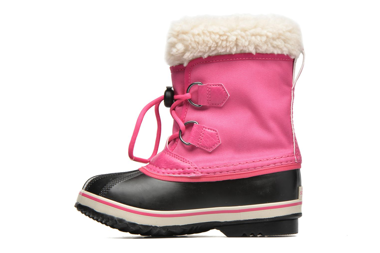 Sportschoenen Sorel Yoot Pac Nylon Roze voorkant