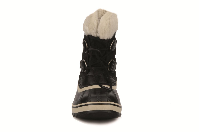 Sportschuhe Sorel Yoot Pac Nylon schwarz schuhe getragen