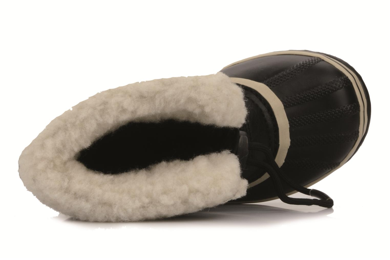 Sportschoenen Sorel Yoot Pac Nylon Zwart links