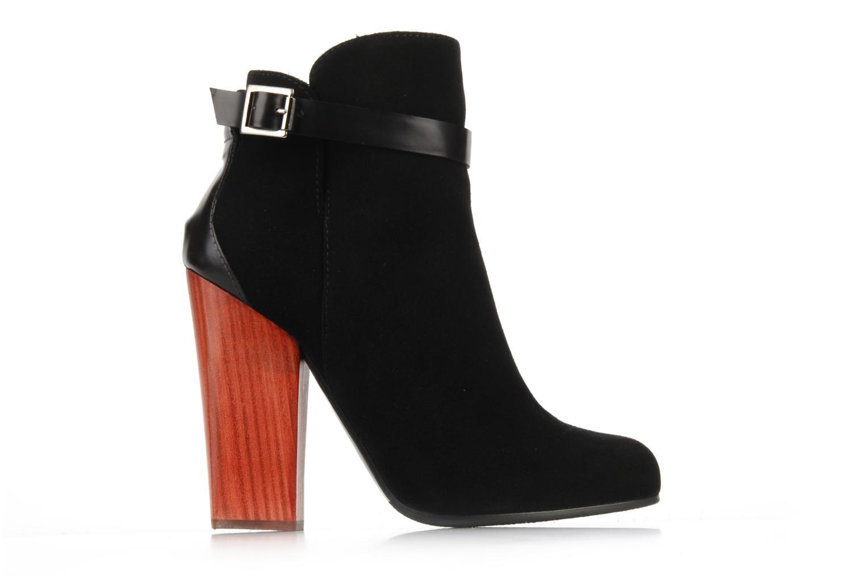 Boots en enkellaarsjes Vicini Varesa Zwart achterkant