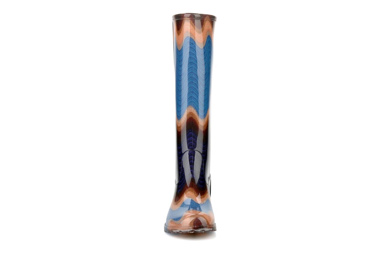 Bottes Missoni Chania Multicolore vue portées chaussures