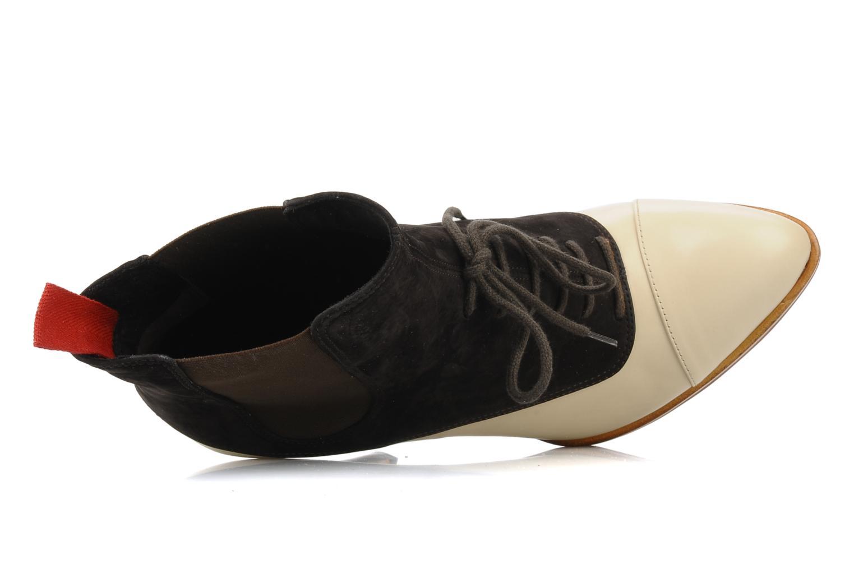 Stiefeletten & Boots Michel Perry Virona beige ansicht von links