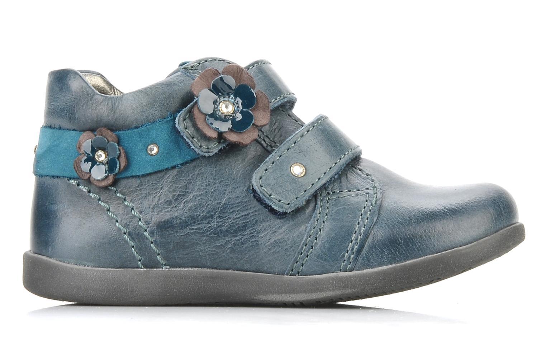 Chaussures à scratch Stones and Bones Sofi Bleu vue derrière