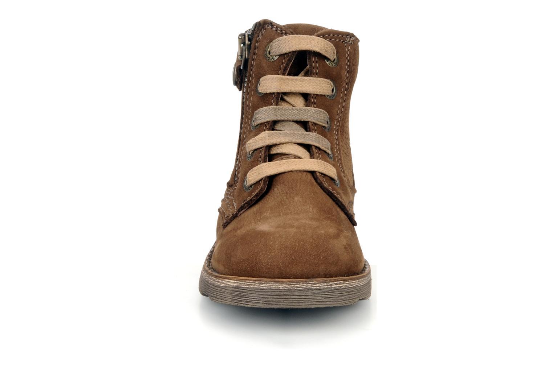 Bottines et boots Stones and Bones Bobby Marron vue portées chaussures