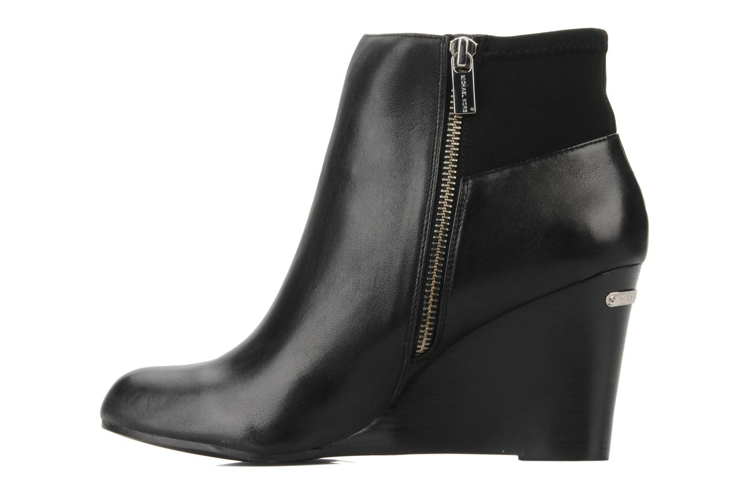 Bottines et boots Michael Michael Kors Bromley wedge bootie Noir vue face