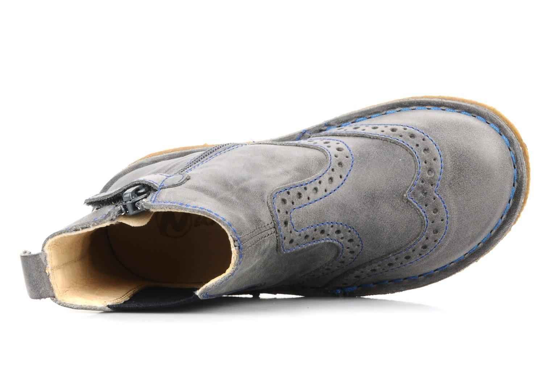 Bottines et boots Naturino Falcotto 2934 Gris vue gauche