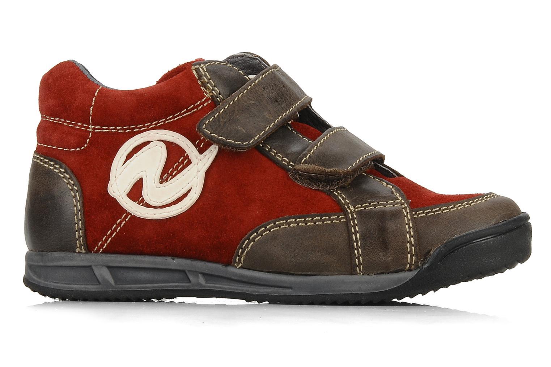 Sneakers Naturino Rilo Bruin achterkant