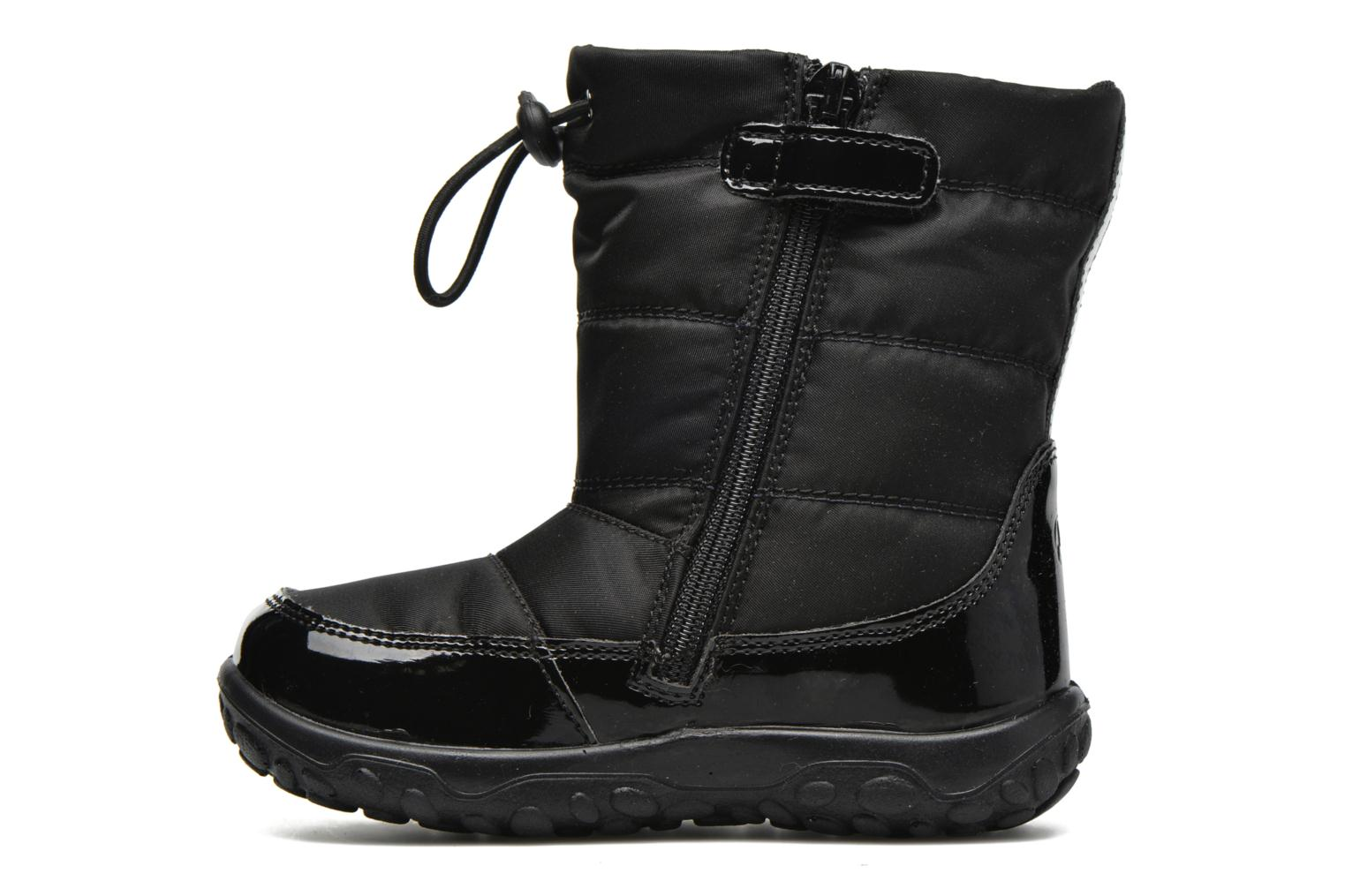 Boots & wellies Naturino Poznurr Black front view