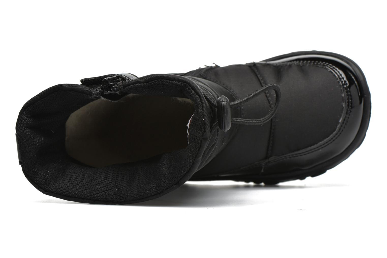 Stiefel Naturino Poznurr schwarz ansicht von links