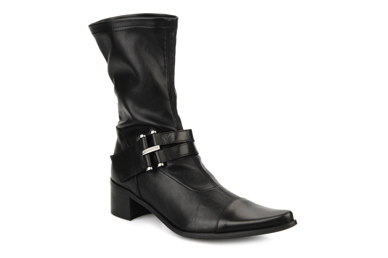 Ankelstøvler JB MARTIN Bering Sort detaljeret billede af skoene