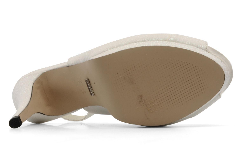 Sandales et nu-pieds Menbur Cindella Blanc vue haut