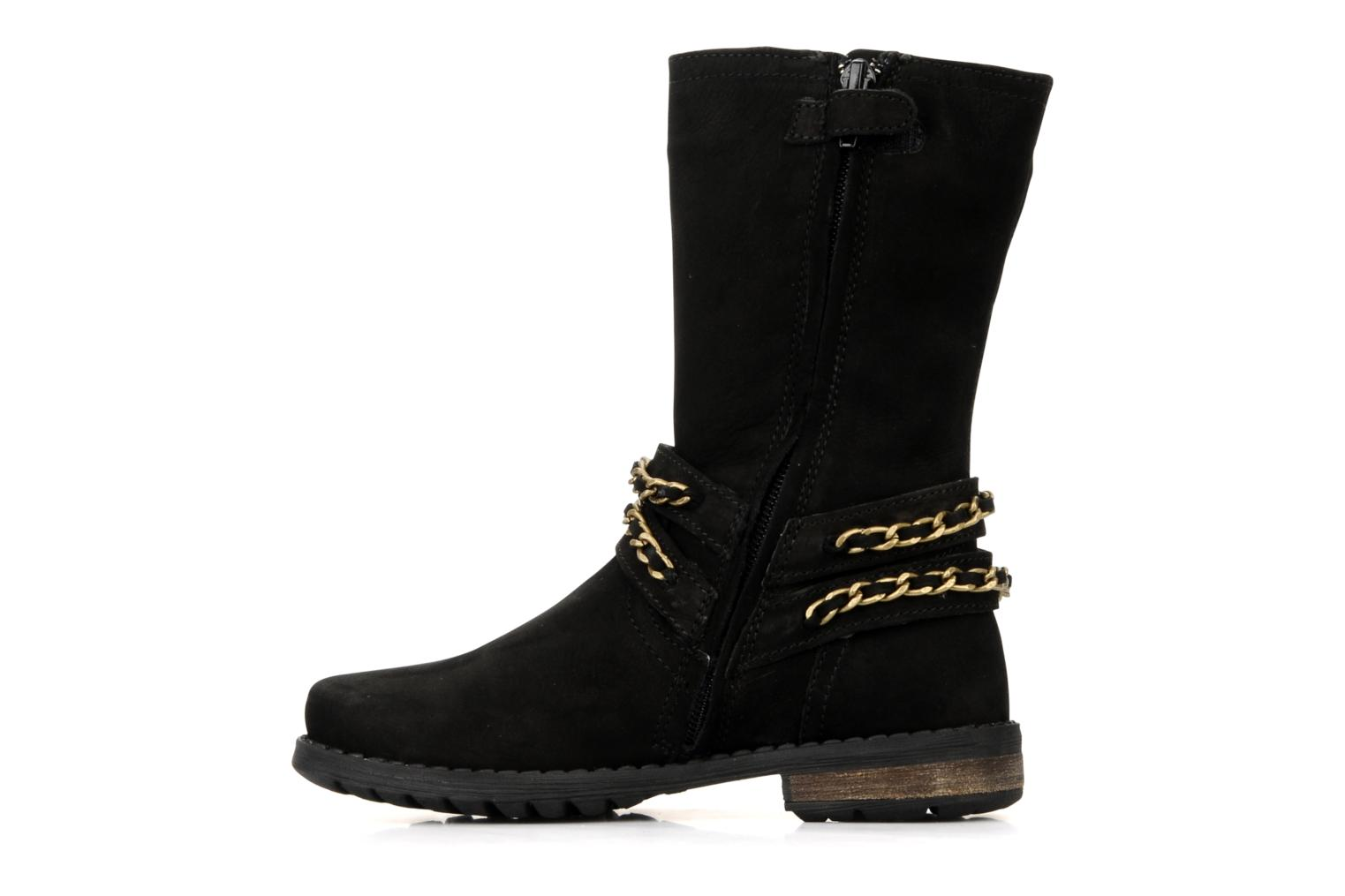 Boots & wellies Unisa Holly Black front view