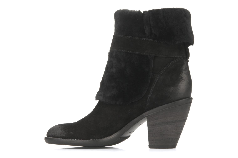 Bottines et boots Janet & Janet Comodo Noir vue face
