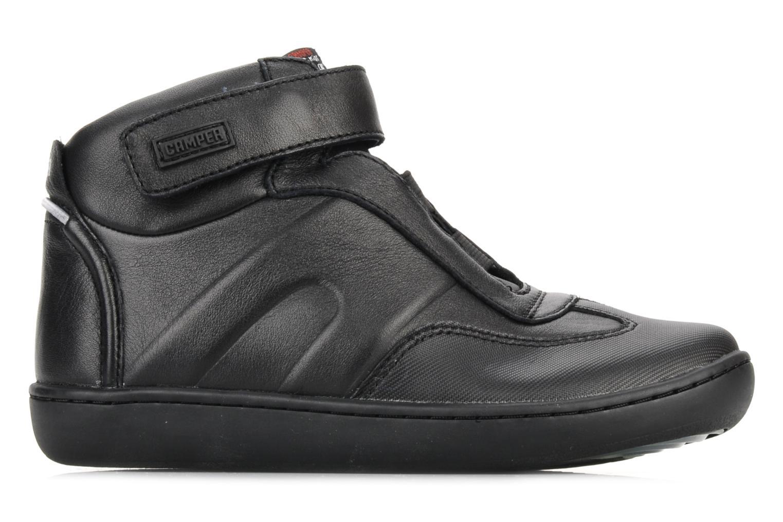 Ankle boots Camper Klick kids 90144 Black back view