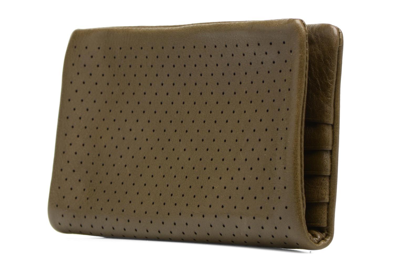 Portemonnaies & Clutches Nat & Nin Ally grün ansicht von rechts