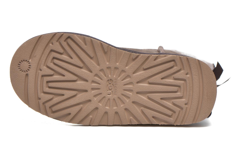 Stiefel UGG Bailey bow grau ansicht von oben