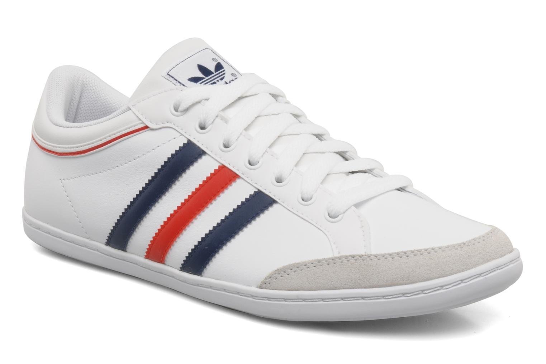 Baskets Adidas Originals Plimcana low Blanc vue détail/paire