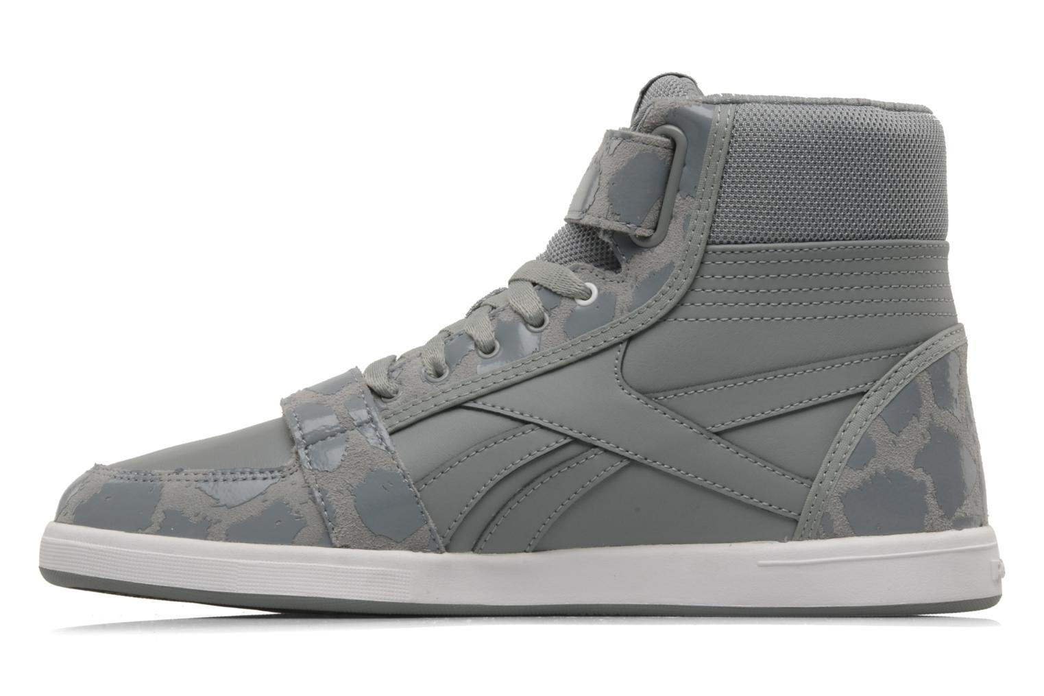 Trainers Reebok Sh court mid Grey front view