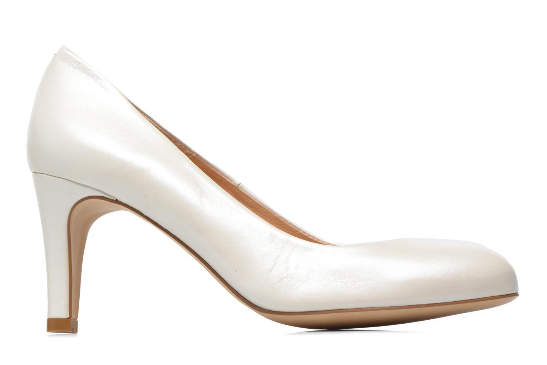 Zapatos de tacón Perlato Cid Blanco vistra trasera