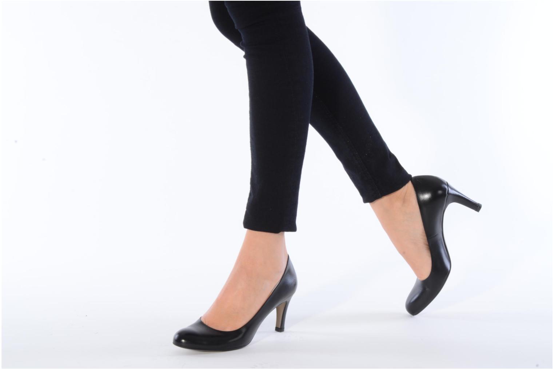 Zapatos de tacón Perlato Cid Negro vista de abajo
