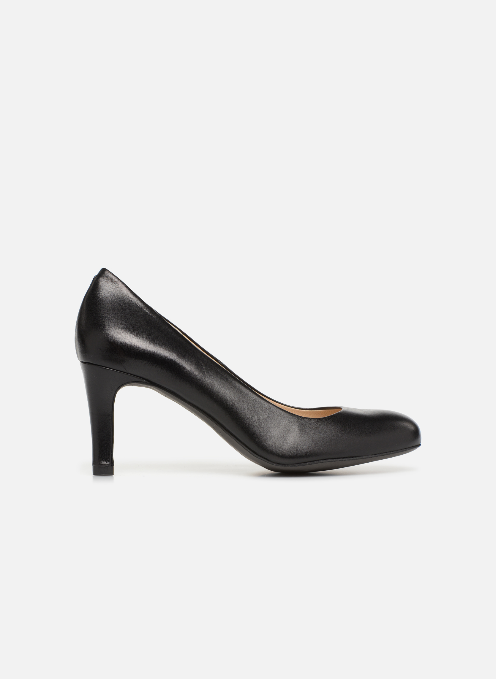 Zapatos de tacón Perlato Cid Negro vistra trasera