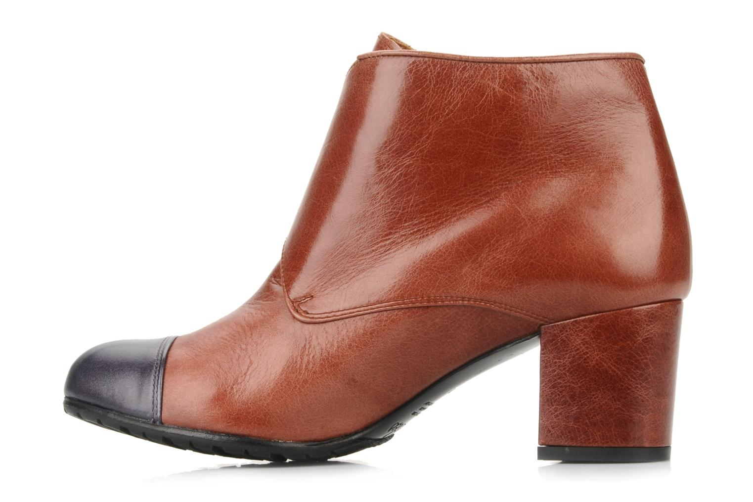 Ankle boots Maloles Anette Brown front view