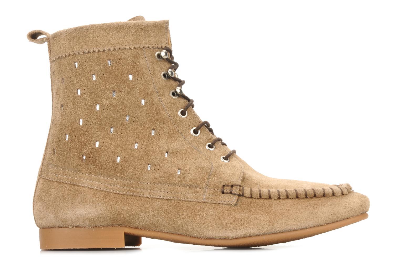 Bottines et boots Maloles Joyce Beige vue derrière