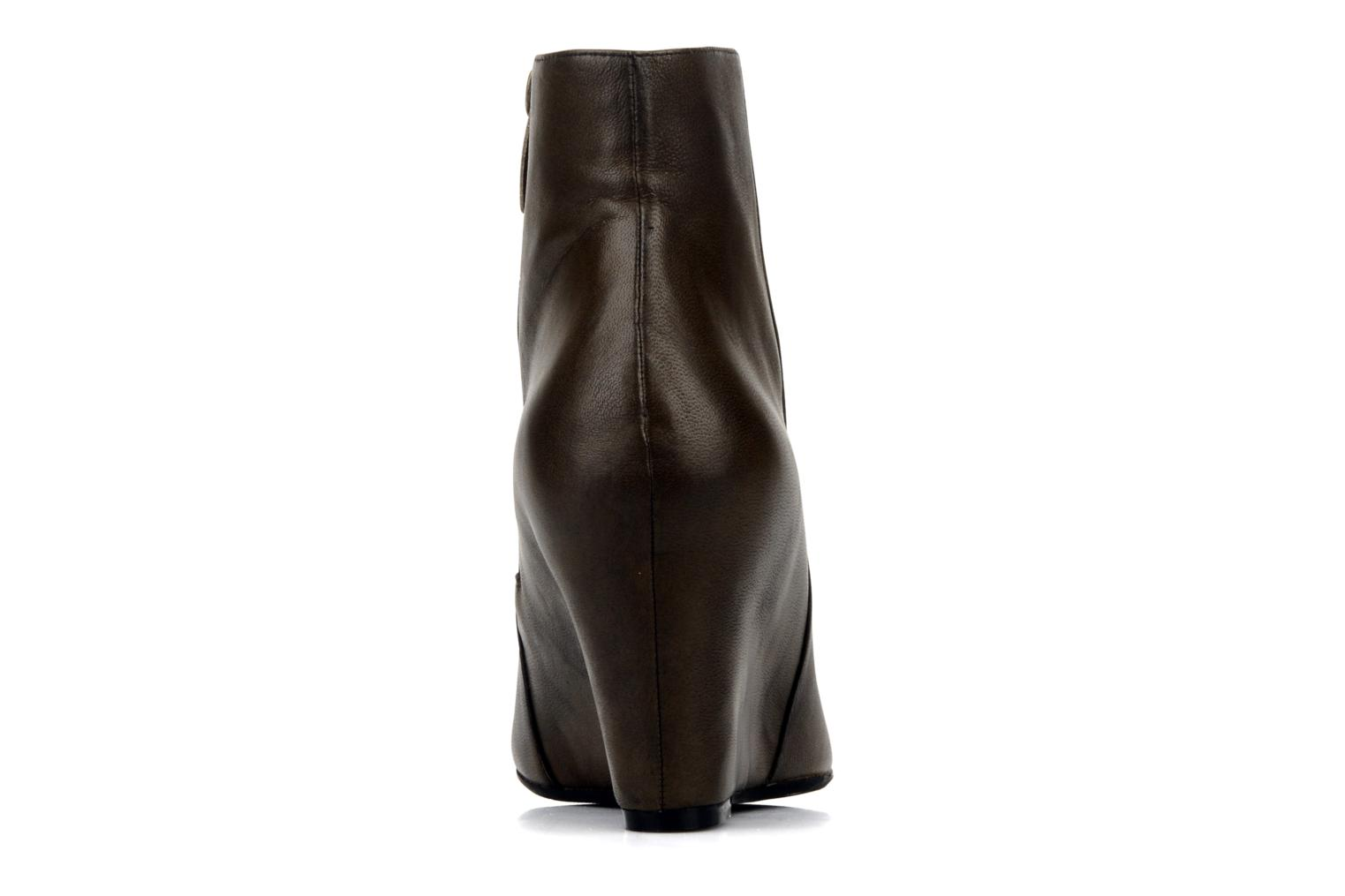 Bottines et boots Bocage Donuzo Marron vue droite