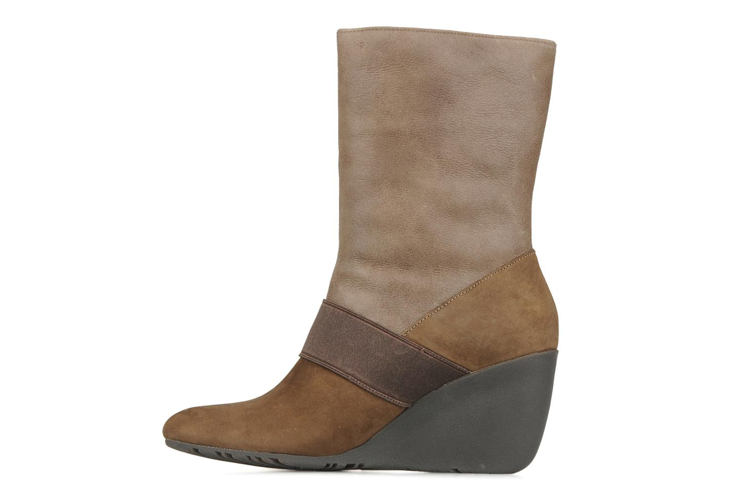 Ankle boots Camper Nancy 46331 Brown front view