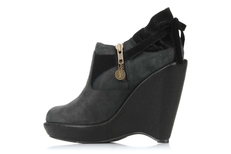 Boots en enkellaarsjes Feud Brit Zwart voorkant
