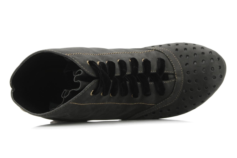 Stiefeletten & Boots Feud Beckon schwarz ansicht von links