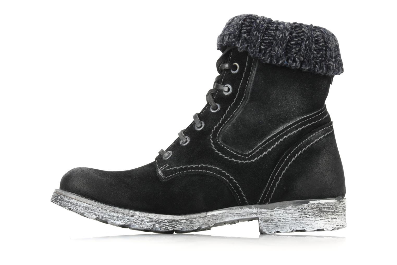 Boots en enkellaarsjes Cafè Noir Aroa Zwart voorkant
