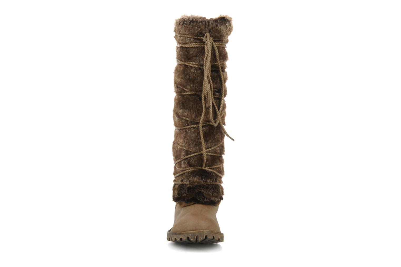 Stiefel Chocolate Schubar Abrania braun schuhe getragen