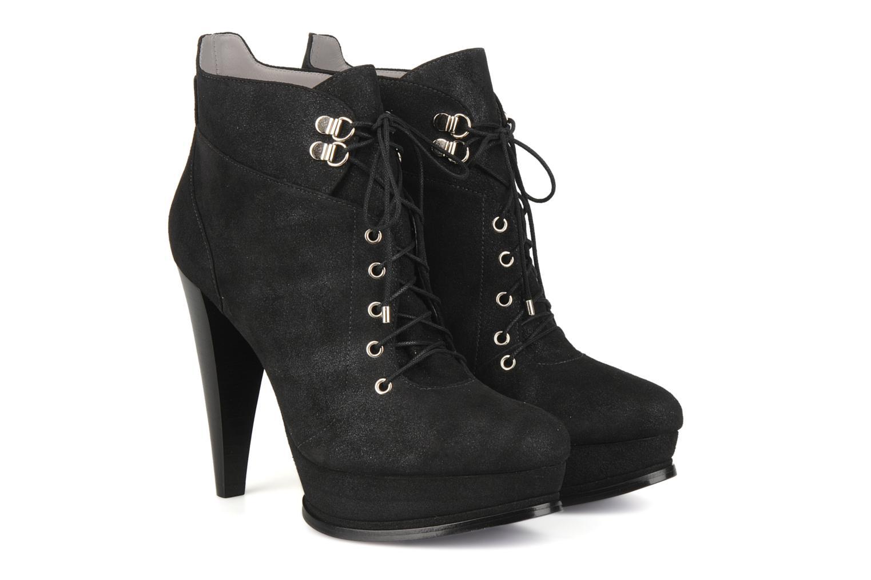 Ankle boots Miezko Manuela Black 3/4 view