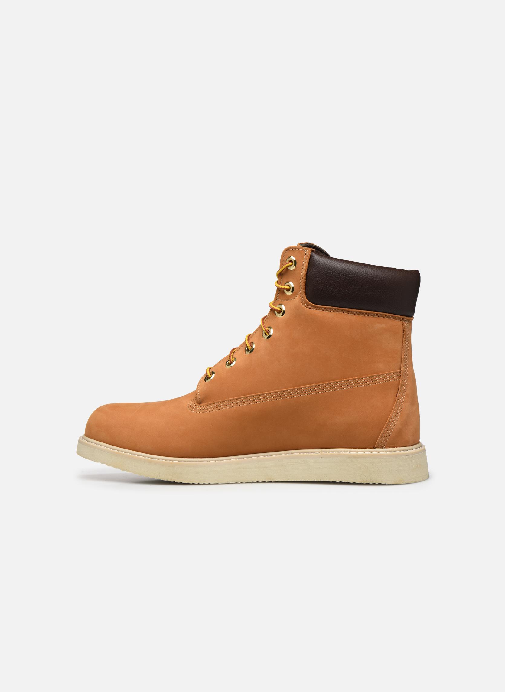 Boots en enkellaarsjes Timberland 6 in wedge Bruin voorkant