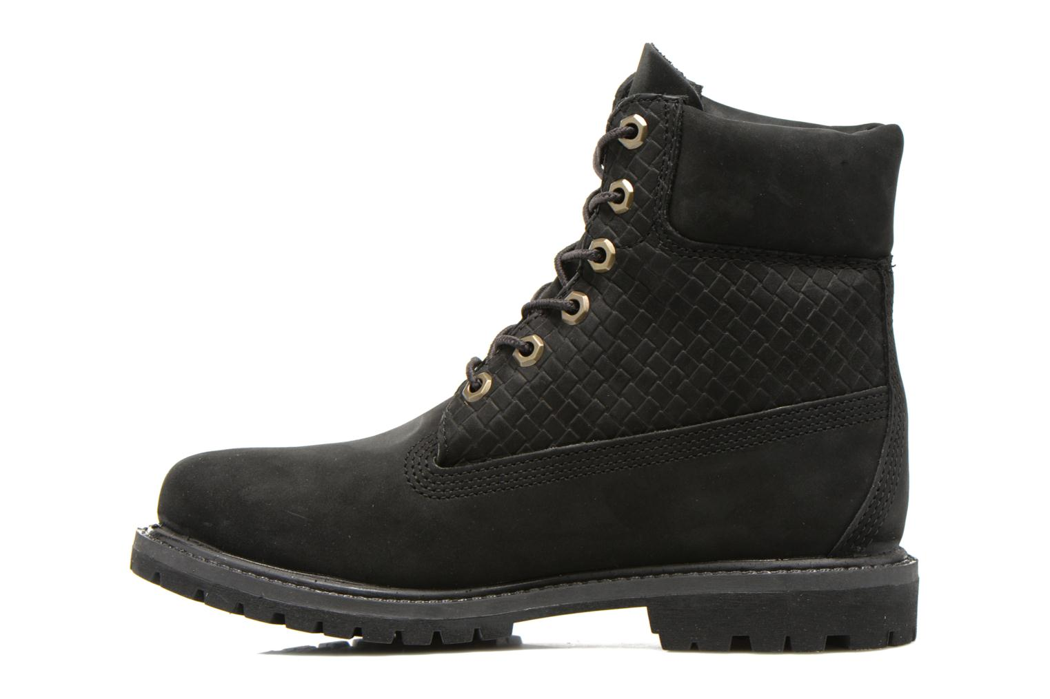 Bottines et boots Timberland 6 in premium boot w Noir vue face