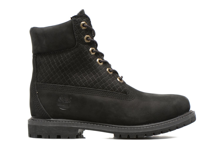 6 in premium boot w Black Nubuck Emboss Black Out