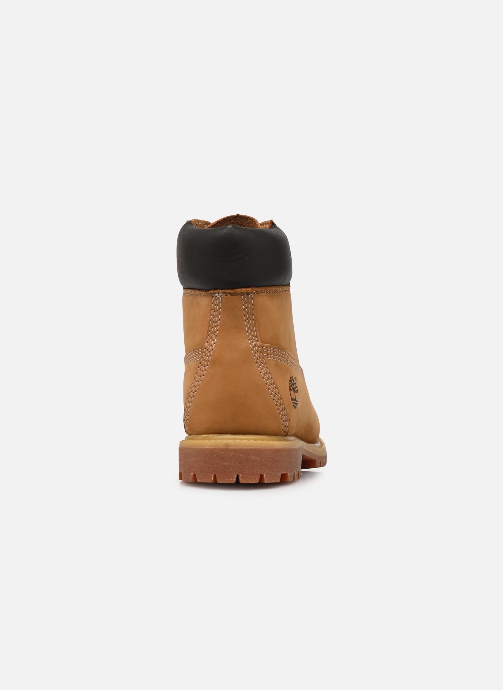 6 in premium boot w Wheat Nubuck