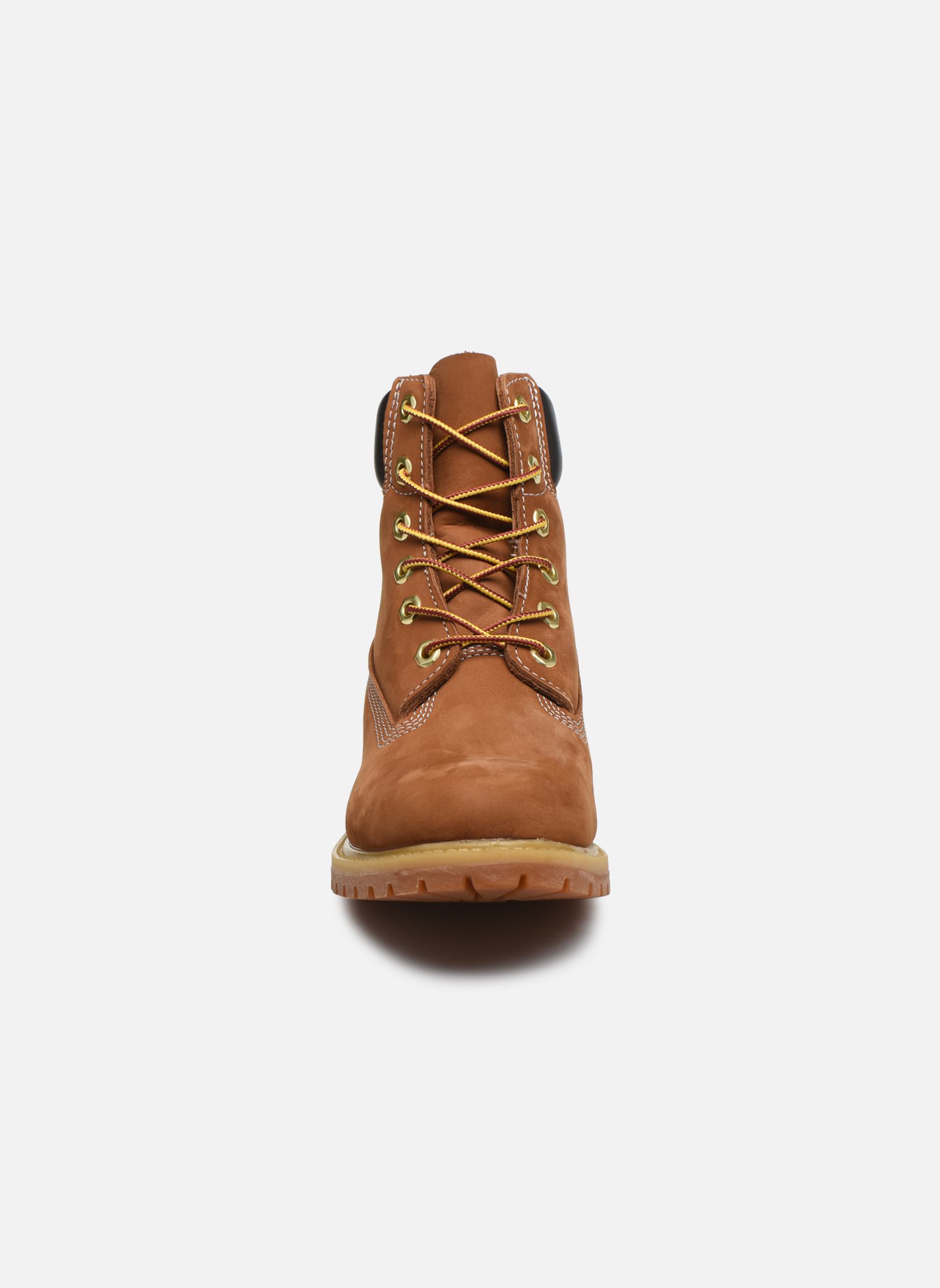 Bottines et boots Timberland 6 in premium boot w Beige vue portées chaussures