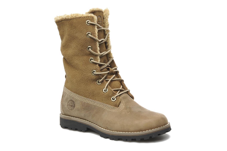 Bottines et boots Timberland 6 In Waterproof Shearling Boot Beige vue 3/4