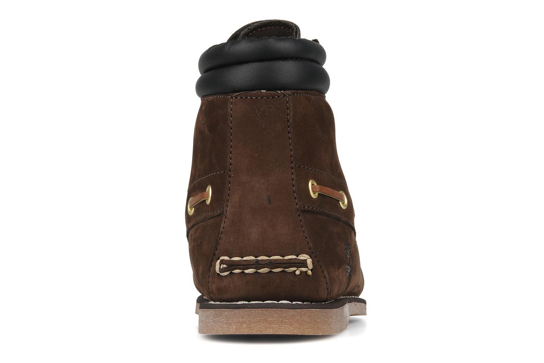 Boots en enkellaarsjes Timberland 7 eye chukka Bruin rechts