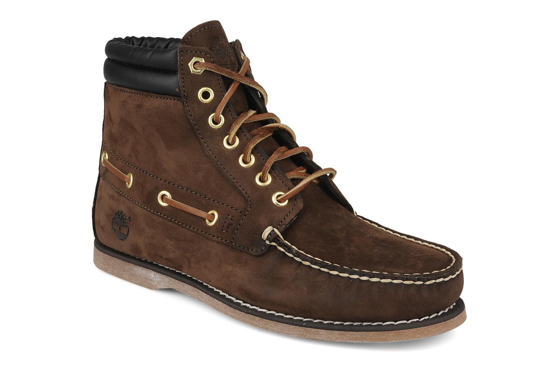 Bottines et boots Timberland 7 eye chukka Marron vue détail/paire