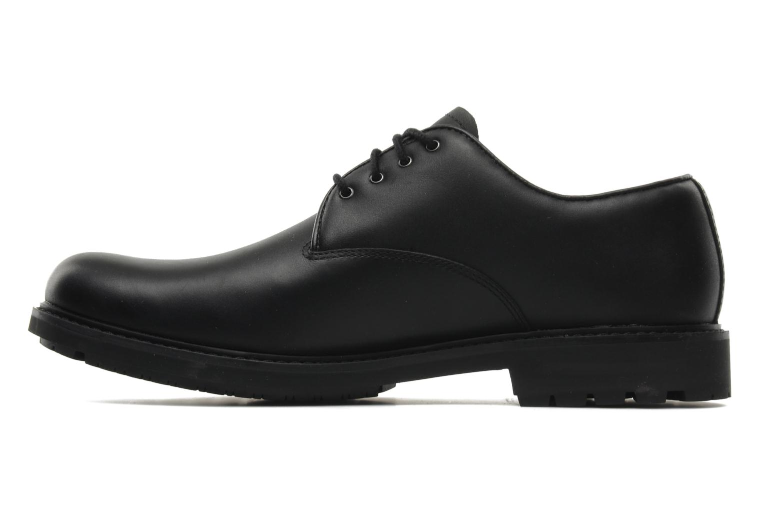 Chaussures à lacets Timberland Earthkeepers Stormbuck Plain Toe Oxford Noir vue face