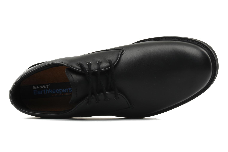 Chaussures à lacets Timberland Earthkeepers Stormbuck Plain Toe Oxford Noir vue gauche