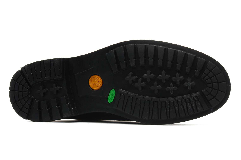 Chaussures à lacets Timberland Earthkeepers Stormbuck Plain Toe Oxford Noir vue haut