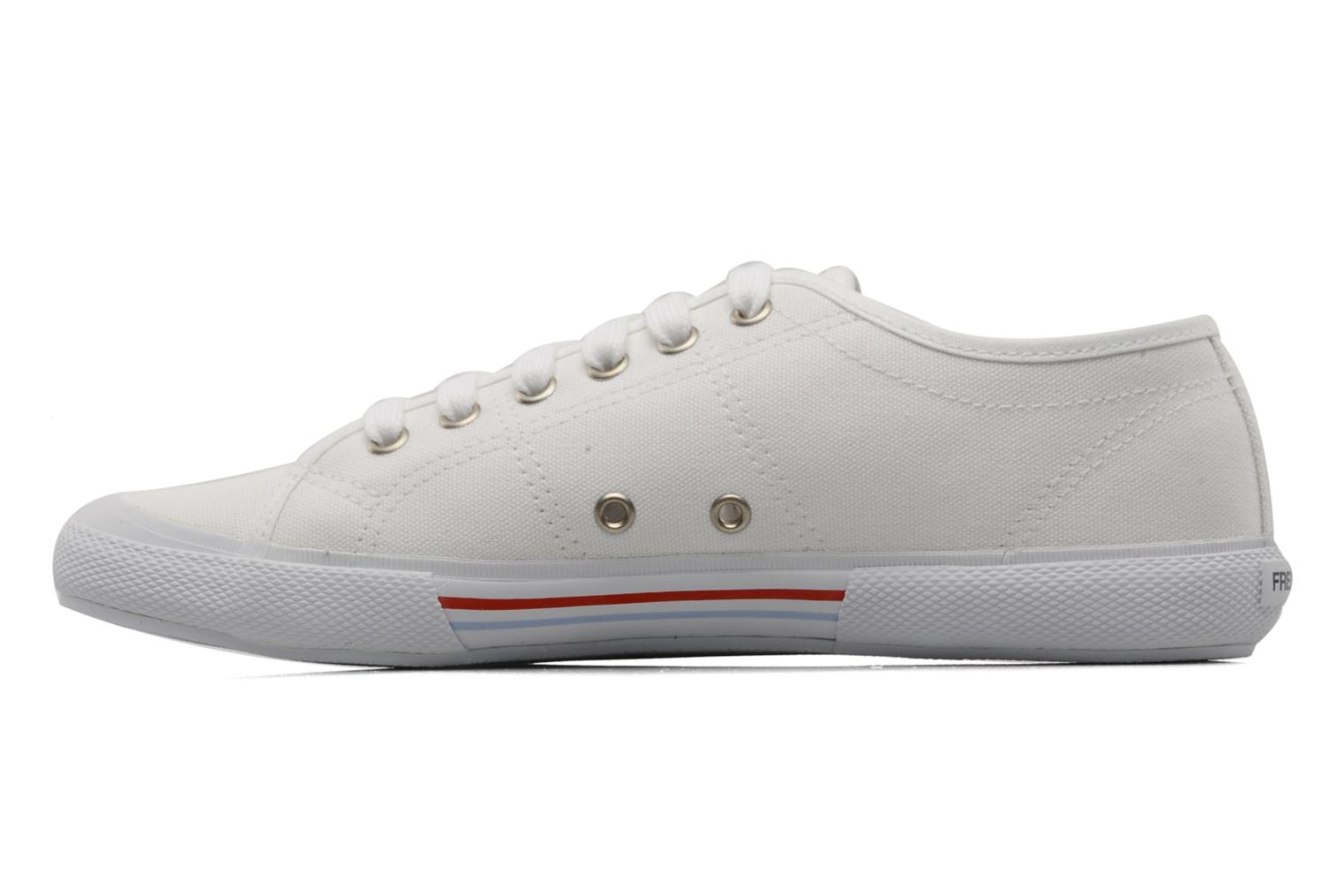Baskets Fred Perry Vintage b708 Blanc vue face
