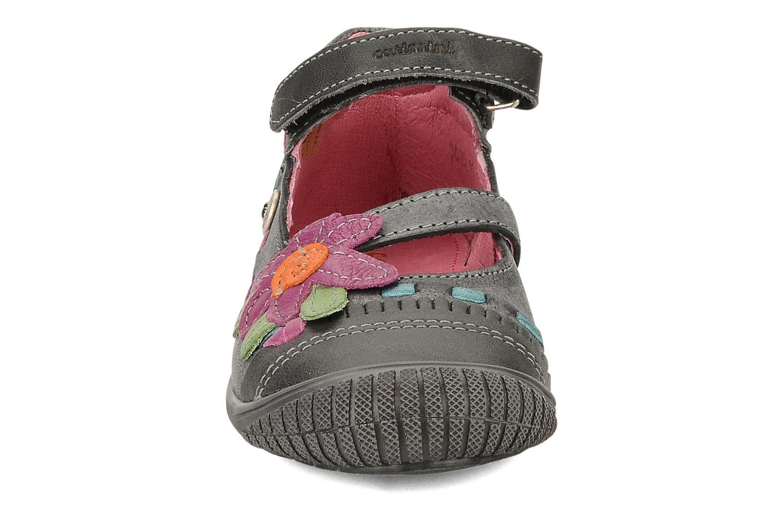 Ballerines Catimini Cati a 25 Noir vue portées chaussures