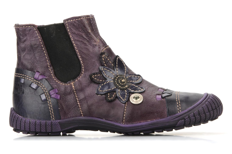 Stiefeletten & Boots Catimini Cati a24 lila ansicht von hinten